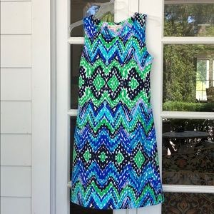 Jude Connolly XS Blue and Green Beth dress